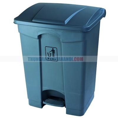 Thùng rác có đạp chân 68l