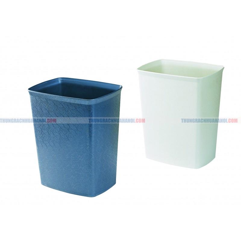 Thùng rác nhựa vuông