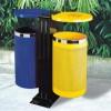 Thùng rác công cộng 2 ngăn phân loại rác thải