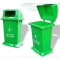 Thùng rác nhựa có nắp MGB 95L