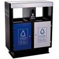 Thùng rác công cộng 2 ngăn phân loại rác thải TLJA58A
