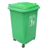 Thùng rác nhựa 60 lít bánh xe EPTN5F60