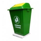 Thùng rác nhựa cố định 50L