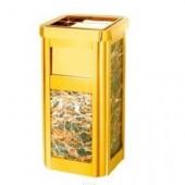 Thùng rác đá hoa cương có khay gạt tàn thuốc lá hàng nhập khẩu