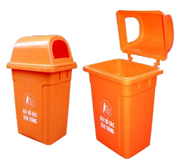 Thùng rác nhựa công cộng MGB 95L