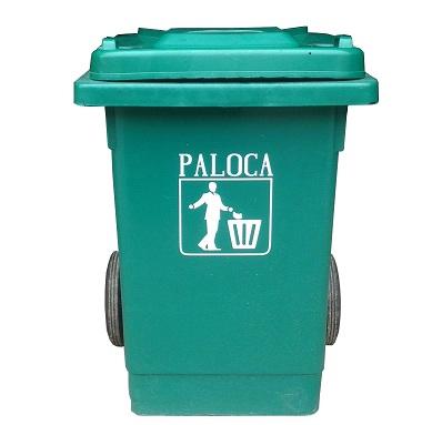Thùng rác nhựa HDPE 80 lít nhập khẩu