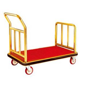Xe đẩy hành lý inox cao cấp kiểu dáng hiện đại